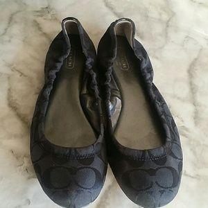 Coach ballet flats 9B